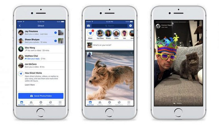 Facebook makes the shift into Stories