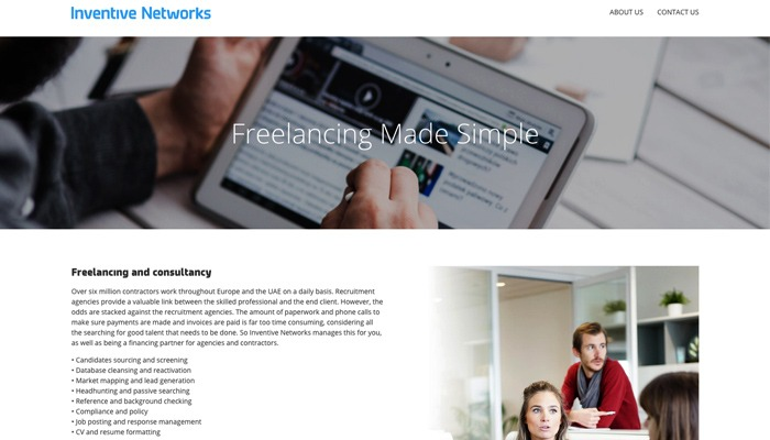 Brand new website for Inventive Networks goes live
