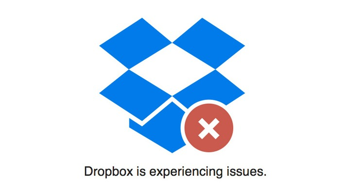 Dropbox experiencing issues today