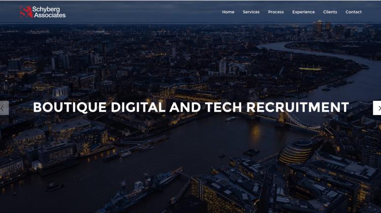 Schyberg Associates website launch
