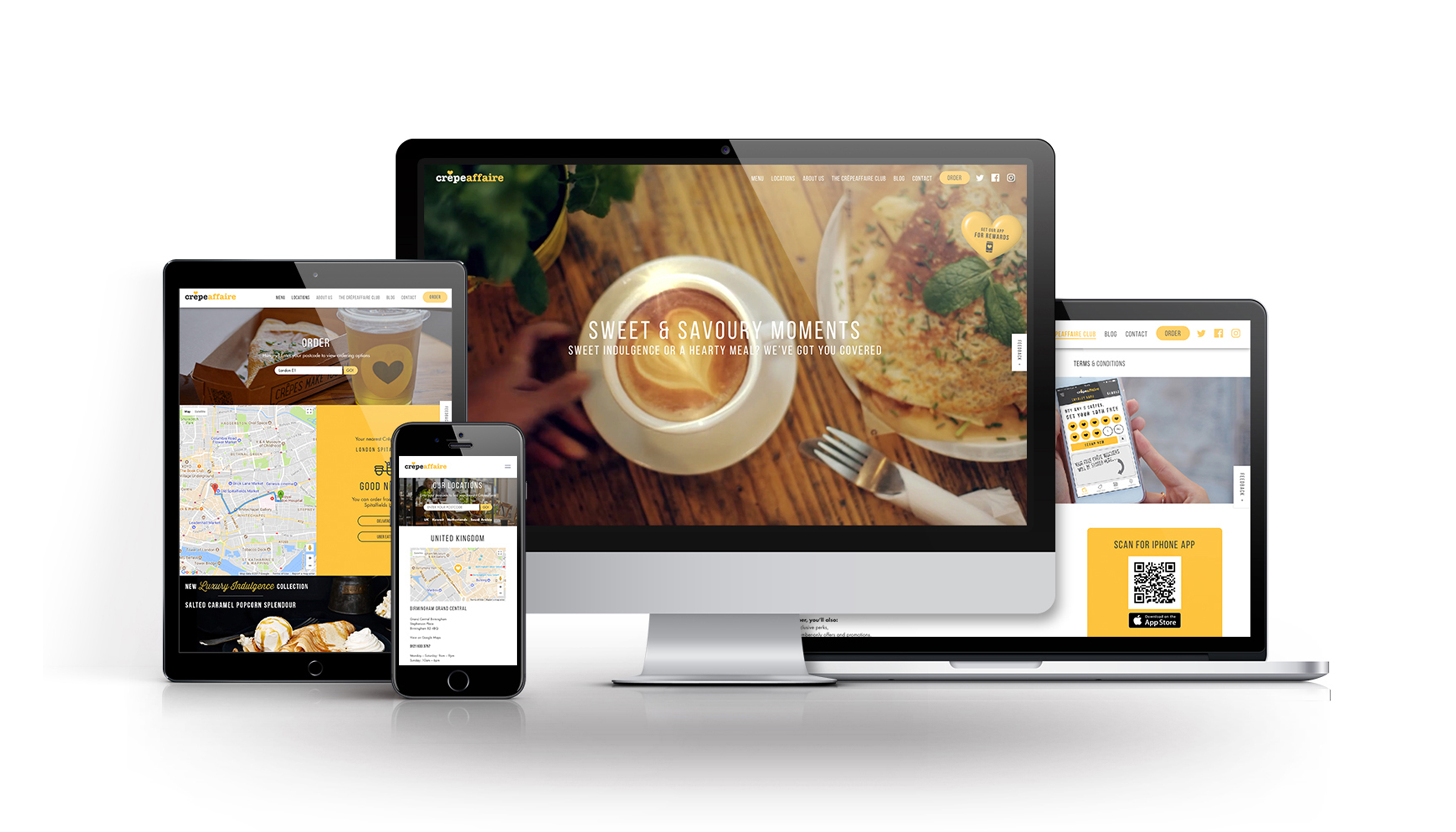 New website launch for Crêpeaffaire