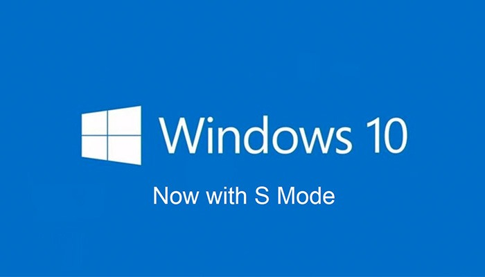 What is the new Windows 10 in S mode ?