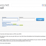 Tesco is closing its email service tesco.net